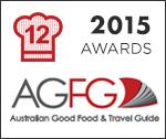 AGFG Award 2015 - Alexanders Restaurant