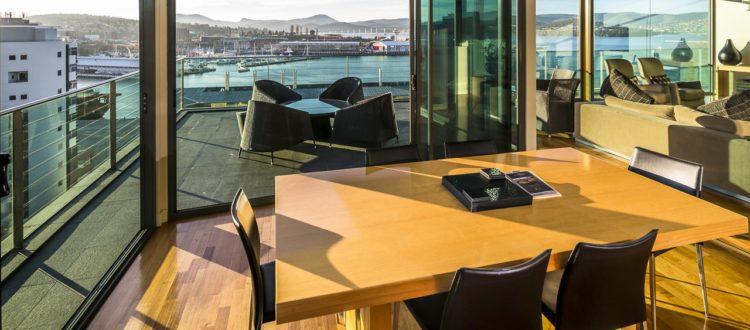 luxurious lenna penthouses Lenna of Hobart