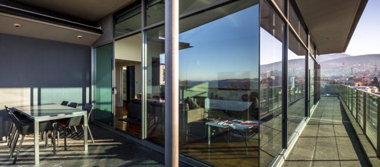 mountain view accommodation